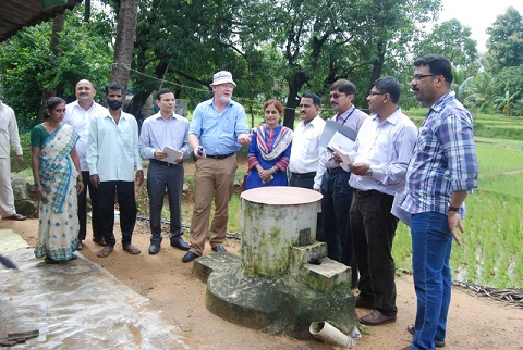 UPNRM-GIZ,germany visit to Sindhudurg Bank